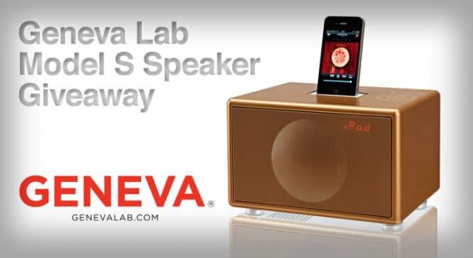 Geneva Lab Model S Speaker Giveaway – Winners Announced