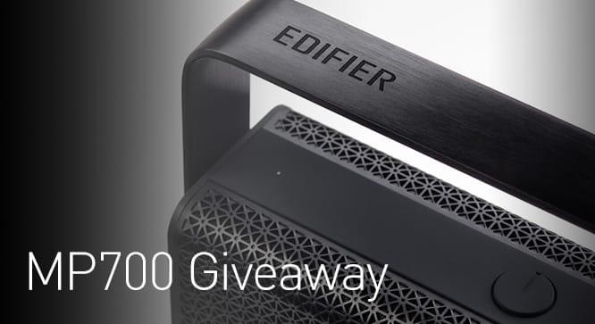 Edifier MP700 Speaker Giveaway - Winners Announced