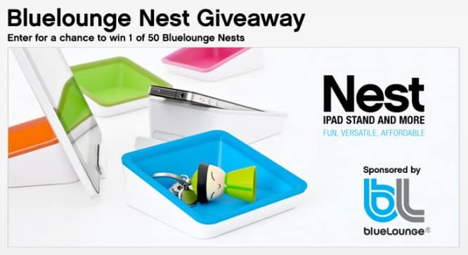 Bluelounge Nest Giveaway – Winners Announced