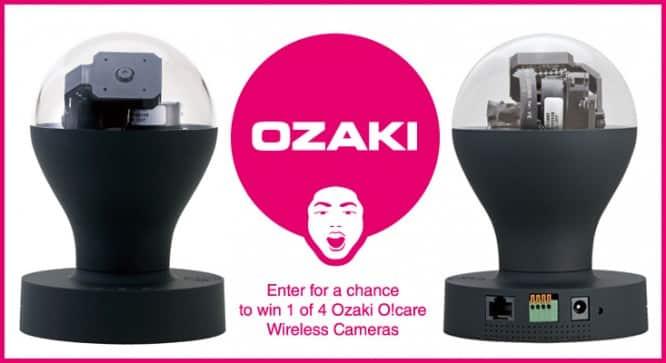 Ozaki O!care Giveaway – Winners Announced