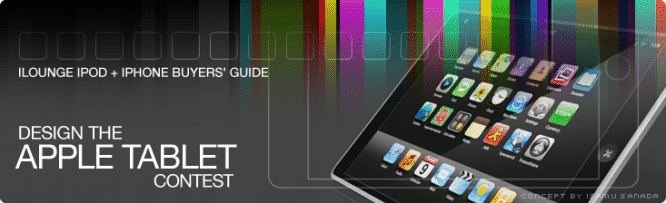 Design The Apple Tablet Contest