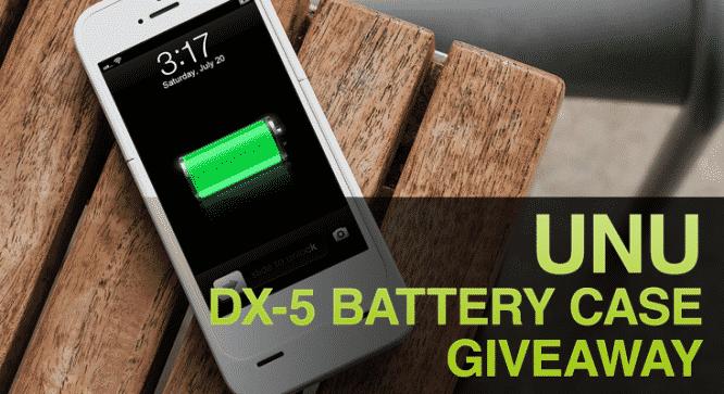 Unu DX-5 Battery Case Giveaway – Winners Announced