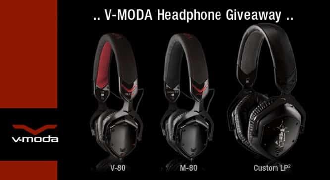 V-Moda Headphone Giveaway – Winners Announced