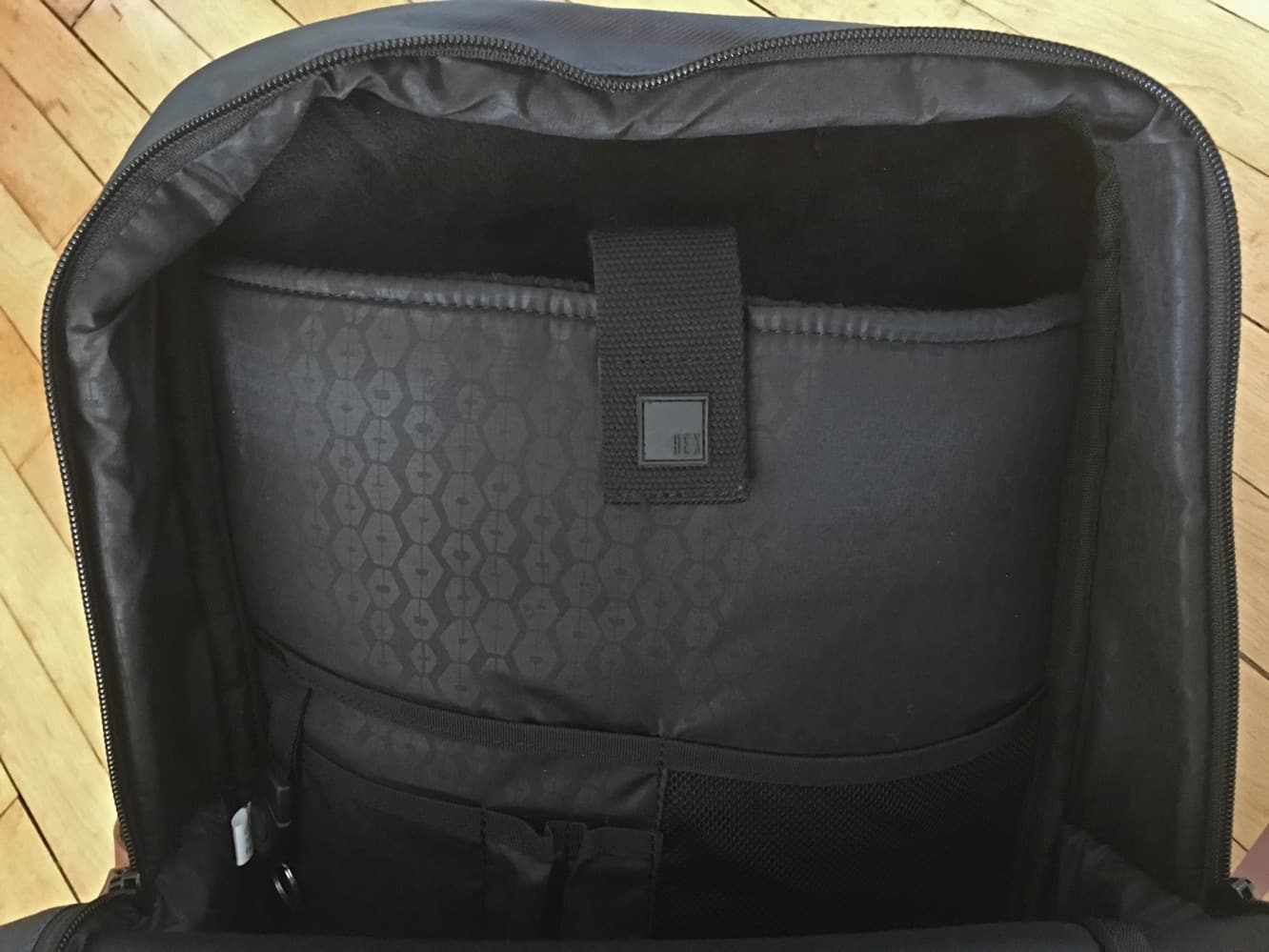 Hex Radar Convertible Backpack and Laptop Briefcase