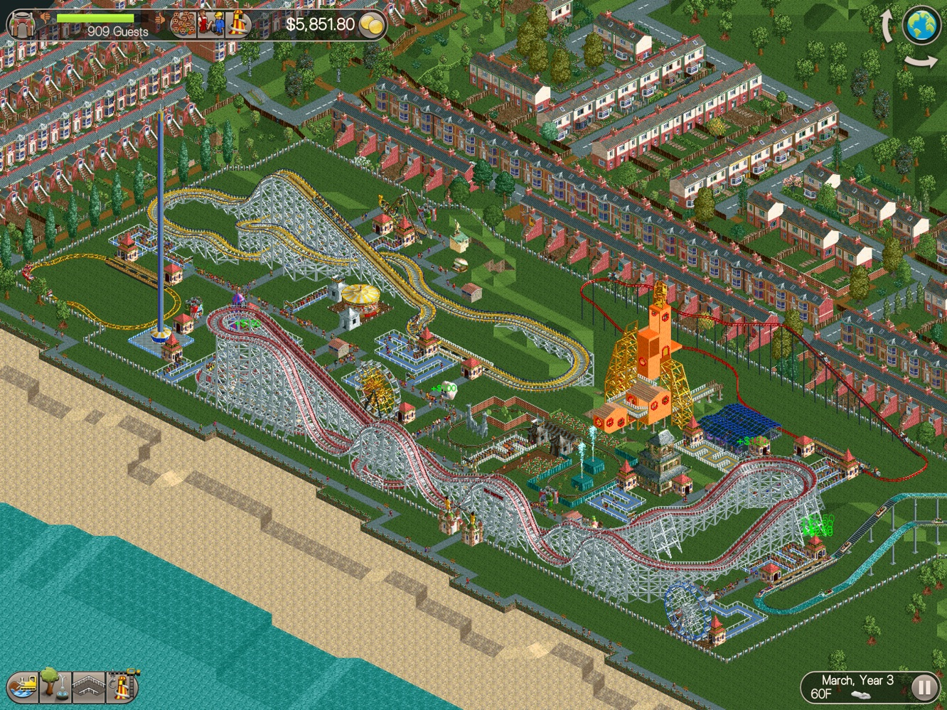App Diary: RollerCoaster Tycoon Classic