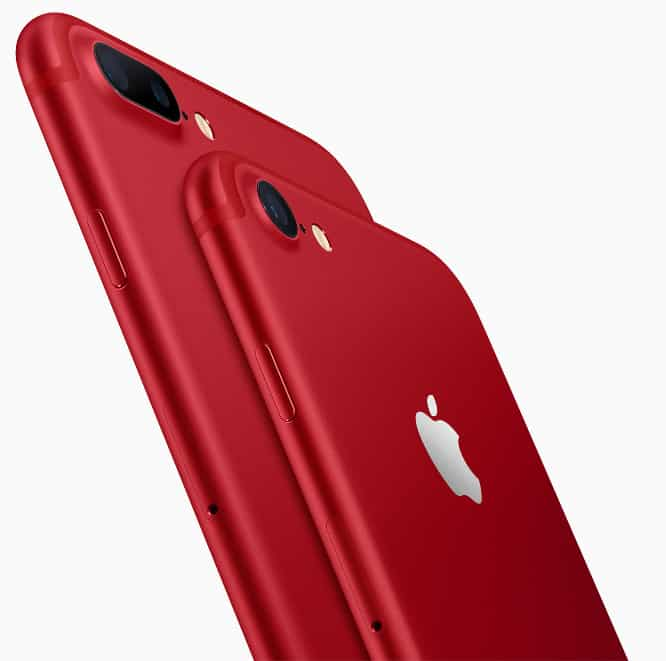 Apple reveals(RED) iPhone 7, 7 Plus models, doubles storage of iPhone SE