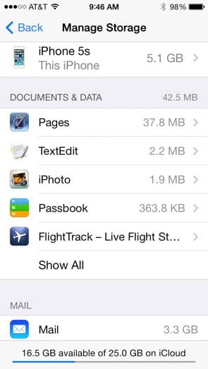 Quickly And Wisely Reducing Your iCloud Footprint