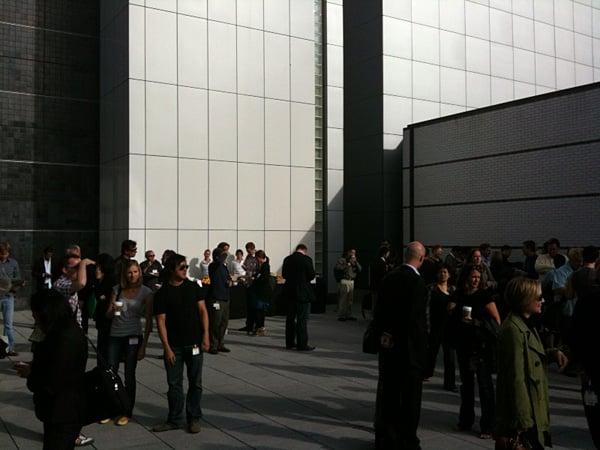 Live pre-event updates from Apple's Rock and Roll event
