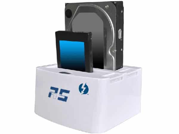 HighPoint Technologies RocketStor 5212 Dual-Bay Thunderbolt Storage Dock