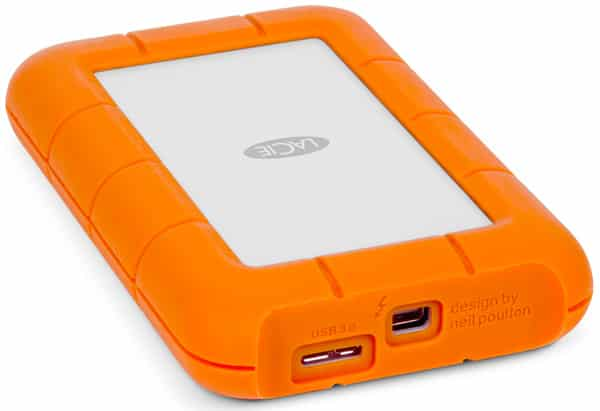 LaCie Rugged USB 3.0 Thunderbolt Series