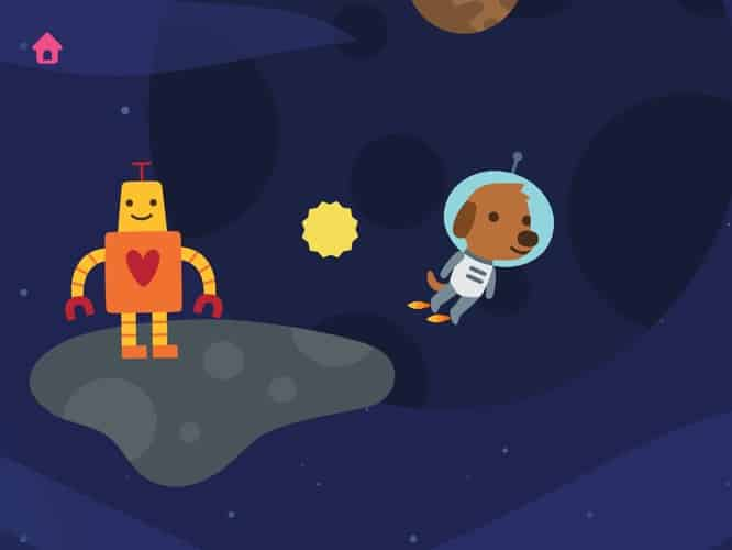 Apps: 100 Balls 1.3, The Awesome Collection, The Elements Flashcards + Sago Mini Space Explorer