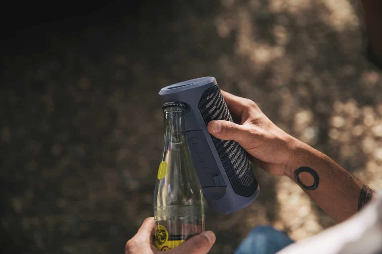 Scosche announces availability of BoomBottle MM rugged speaker