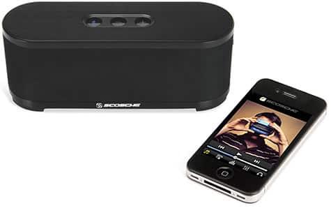 Scosche rolls out boomStream Bluetooth speaker