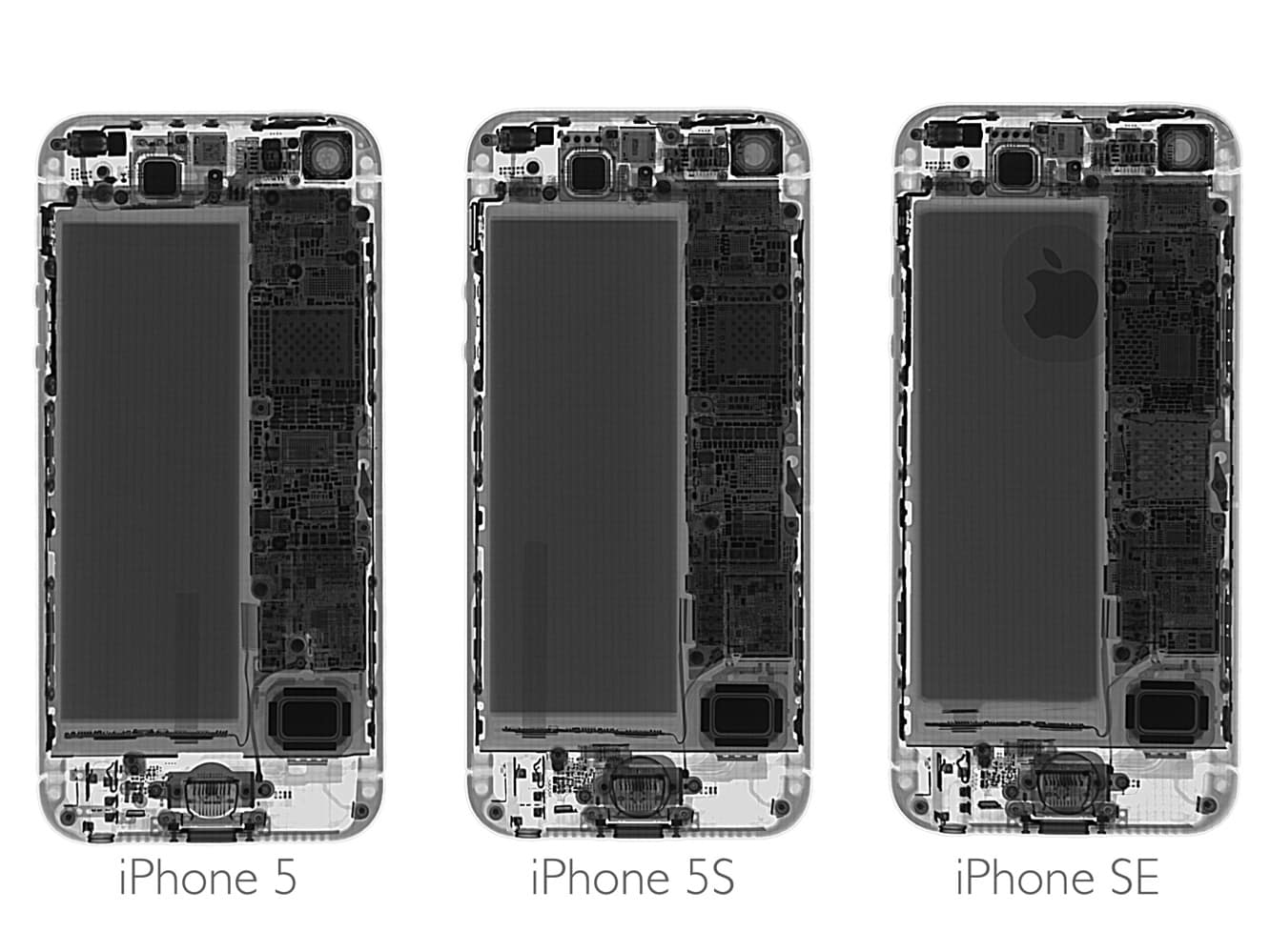 iFixit's iPhone SE Teardown reveals some interchangeability with iPhone 5s parts