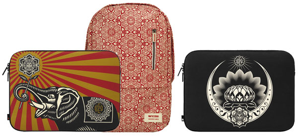 Incase Incase for Shepard Fairey Canvas Sleeves + Campus Pack