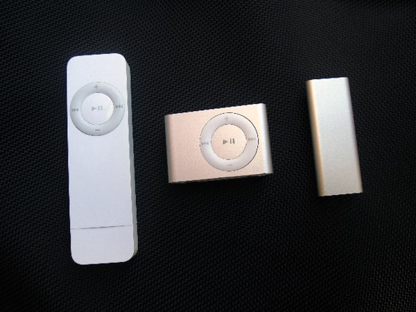 iPod shuffle 3G unboxing photos posted
