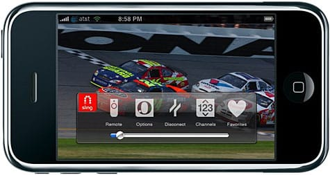Sling shows SlingPlayer Mobile for iPhone, coming Q1