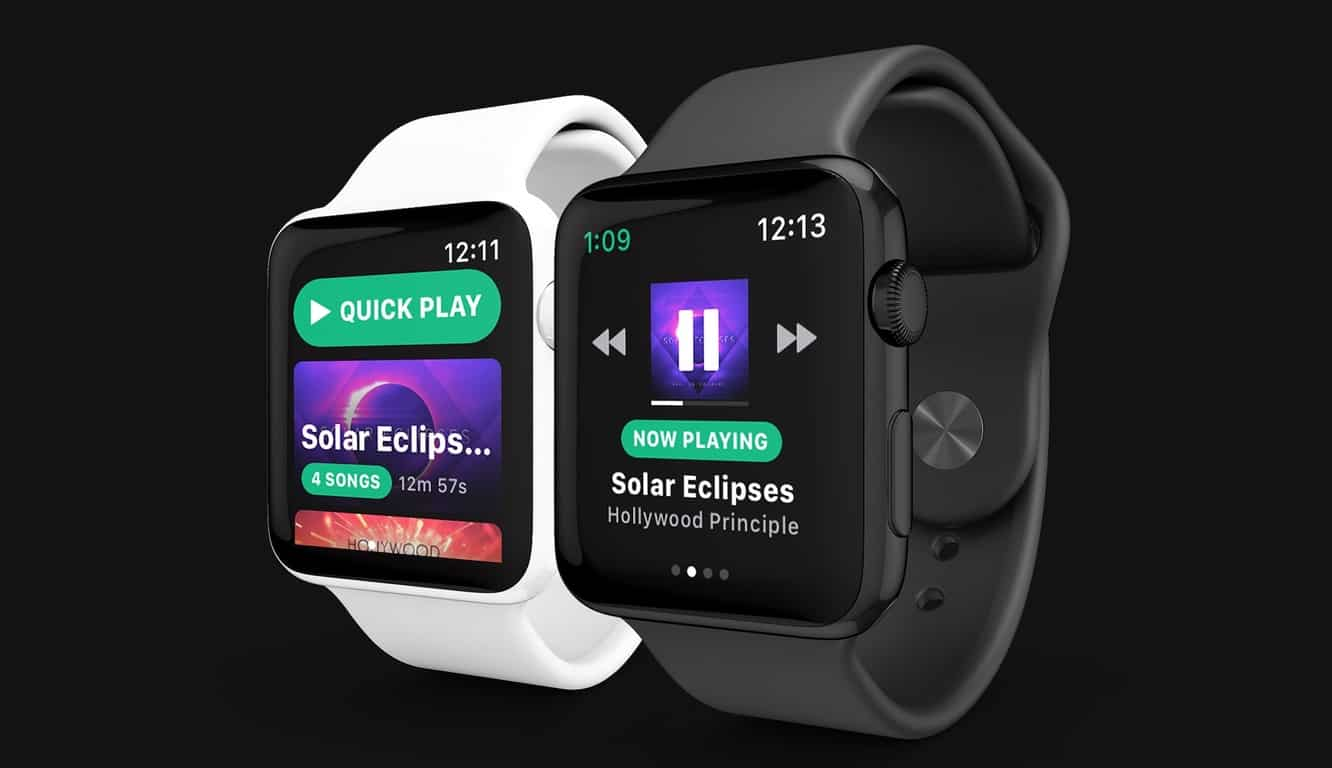 Spotify partners with 'Spotty' developer to create official Apple Watch