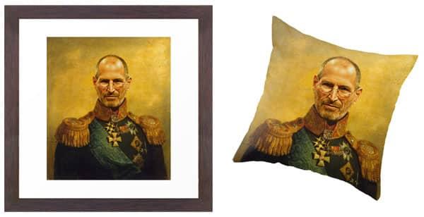 Replaceface Steve Jobs Prints
