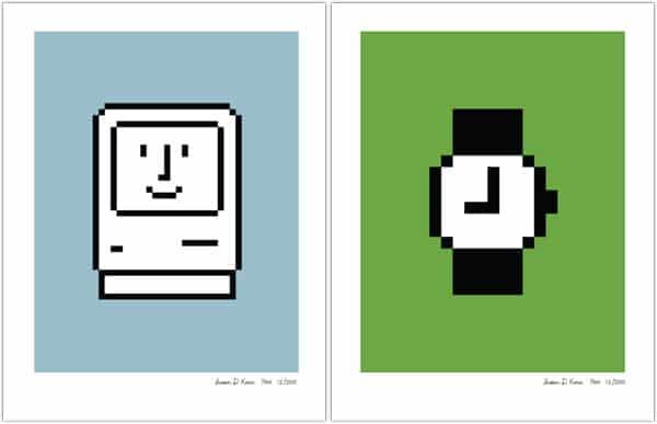 Susan Kare Classic Mac Icon Prints