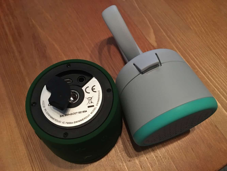 Polk Audio Swimmer Duo + Swimmer Jr Bluetooth speakers