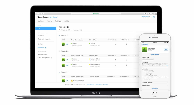 Apple updates TestFlight program with support for multiple builds