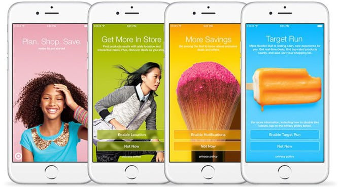 Target testing in-store beacons for iOS app users
