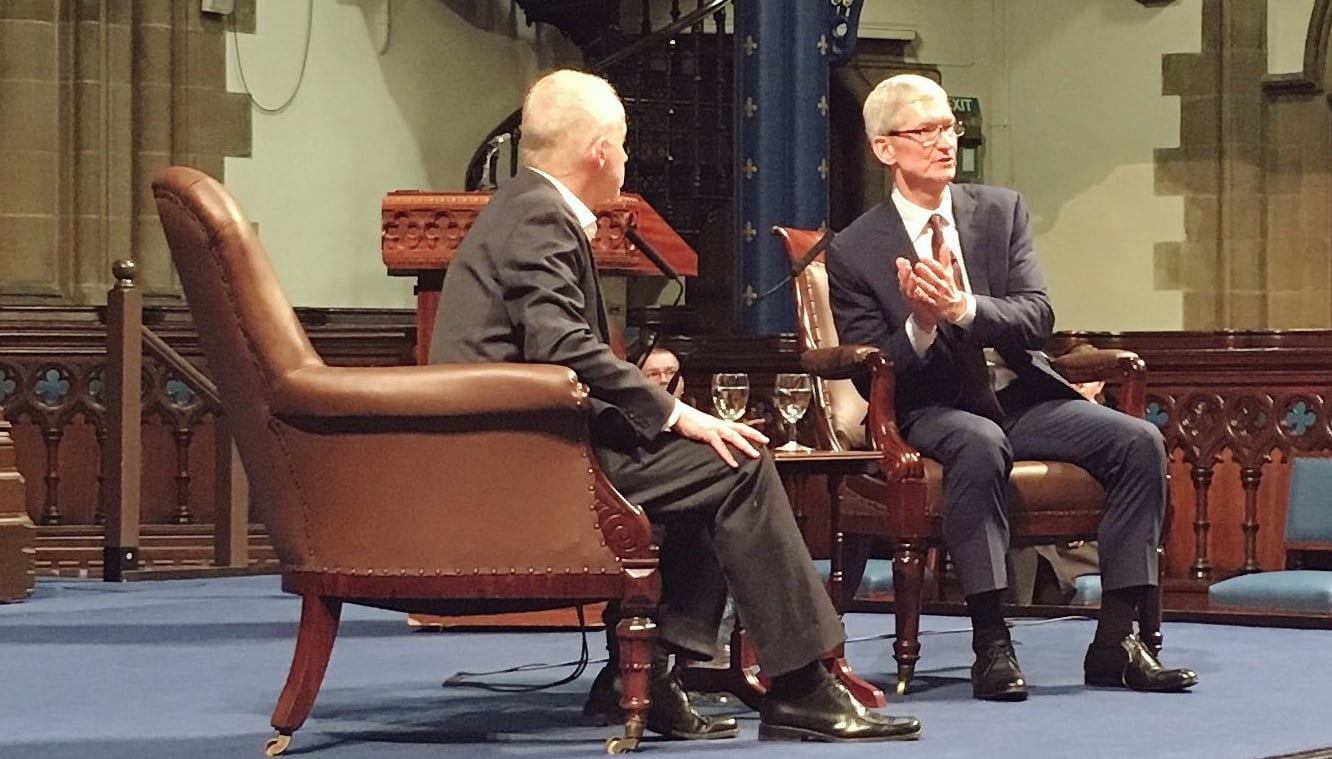 Tim Cook discusses immigration ban, Steve Jobs' influence at 'Fireside Chat'