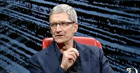 Highlight video of Apple CEO Cook at D10 now available