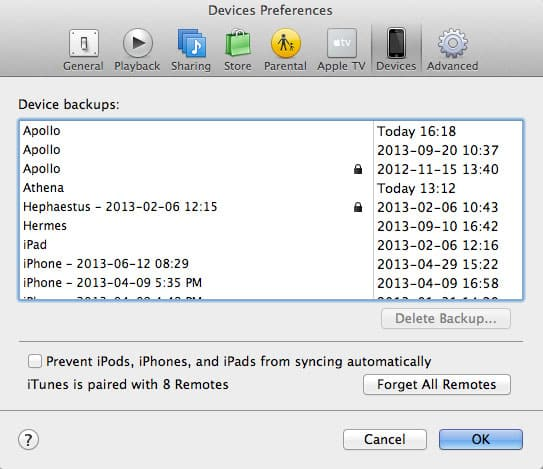 Remove your old backups after upgrading your iPhone