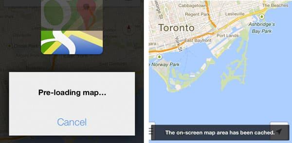 Storing Google Maps for offline use