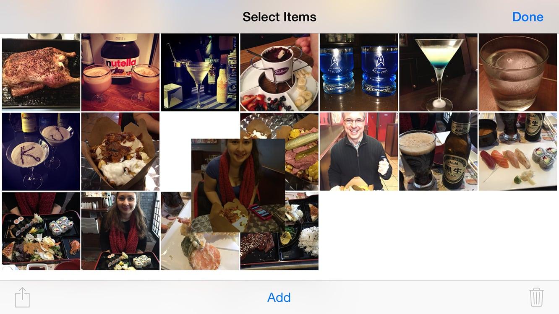 Reordering Photos in iOS 8 Photo Albums