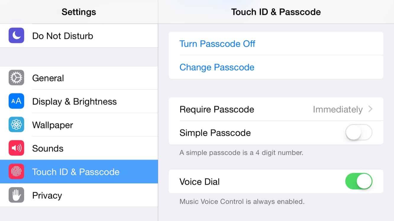 Improving password security in iOS