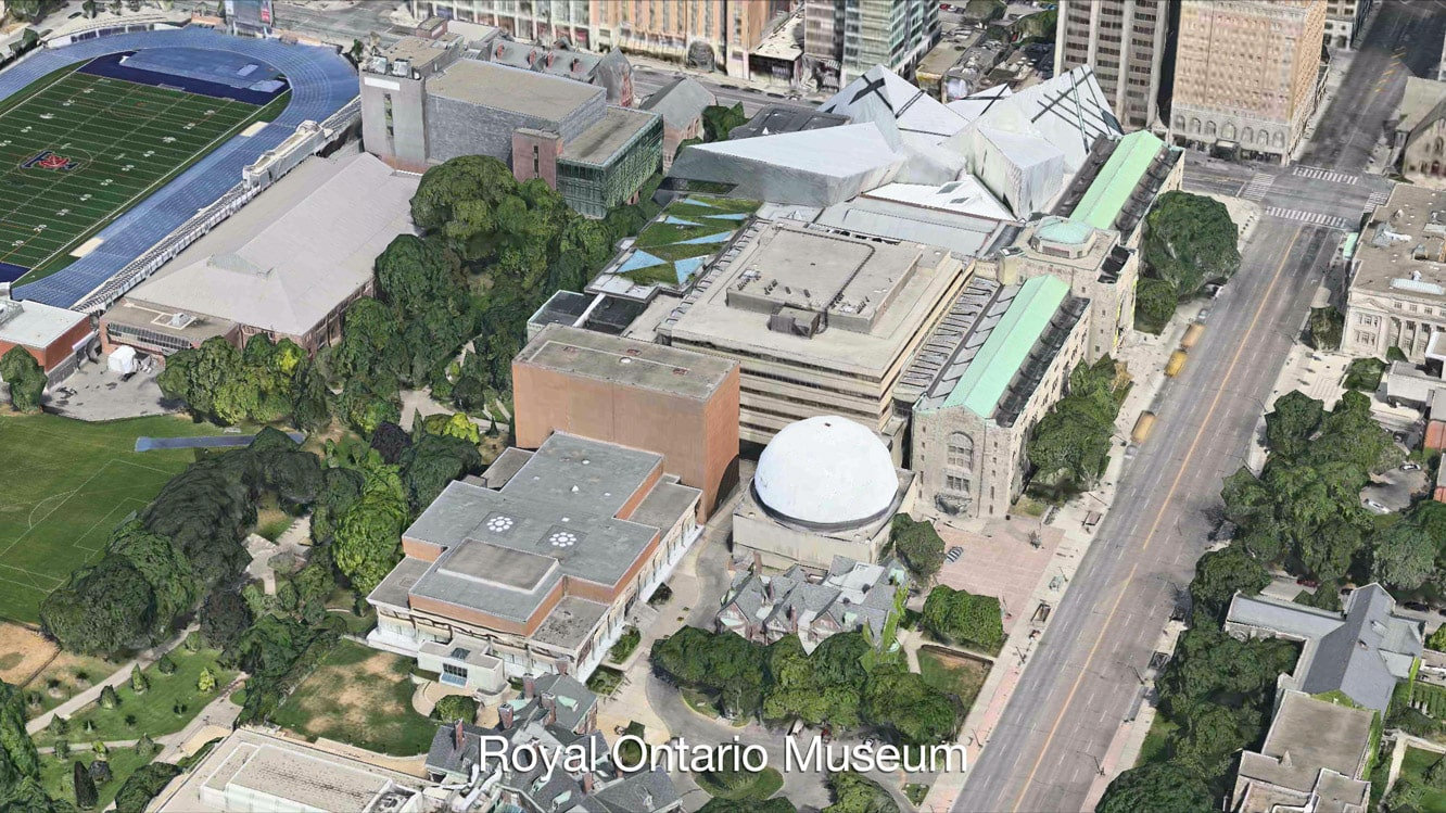 Going on 3D Flyover Tours in Apple Maps