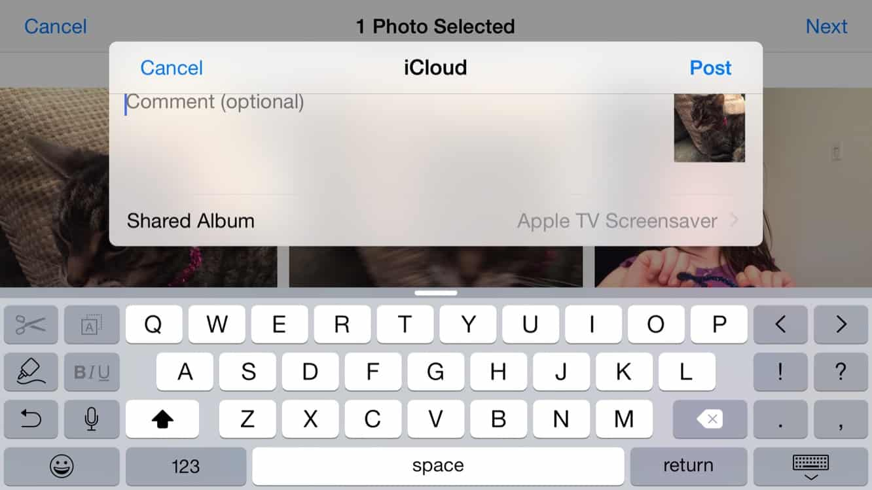 Updating your Apple TV Screen Saver via iCloud