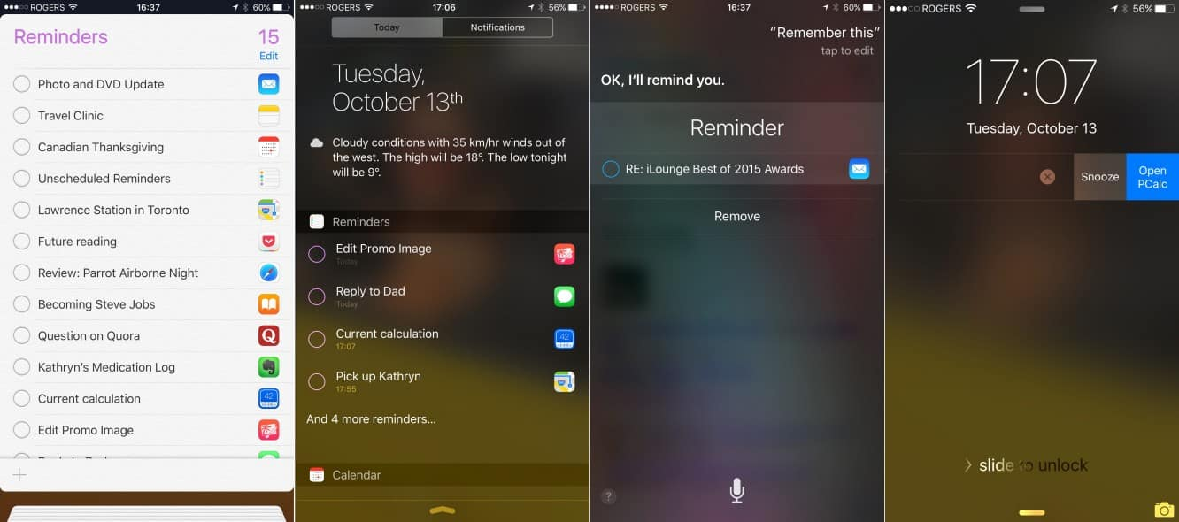 Adding links to Reminders in iOS 9