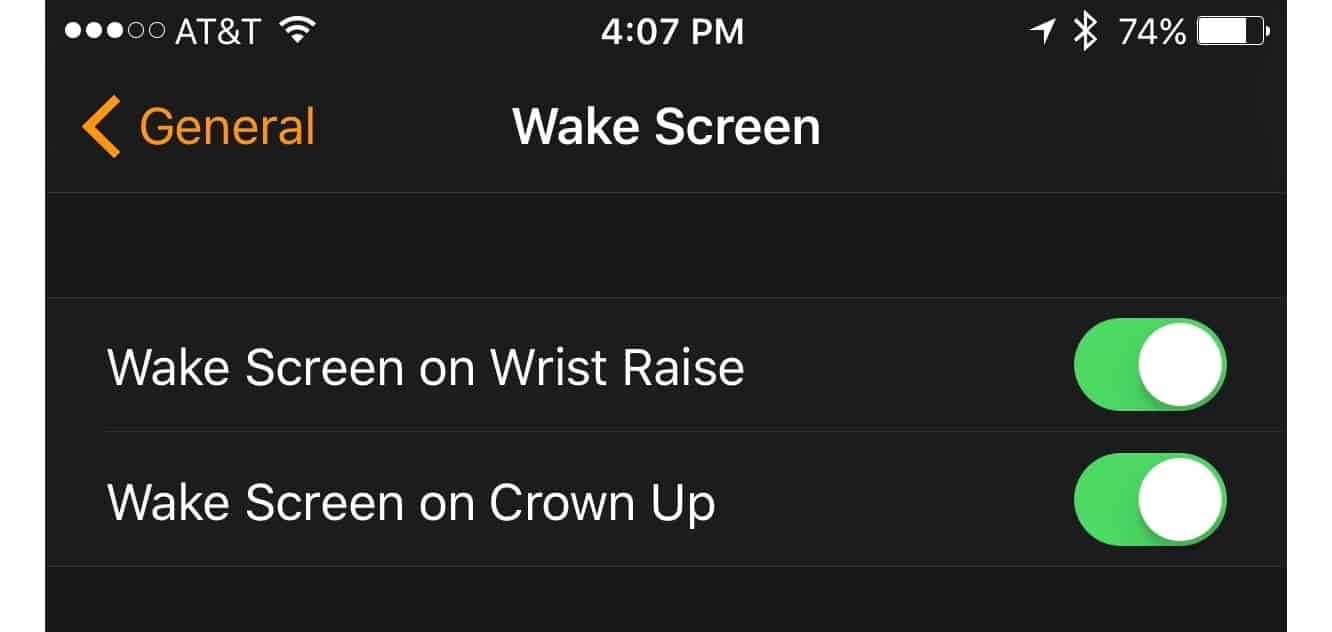 Using the Digital Crown to peek at your Apple Watch screen