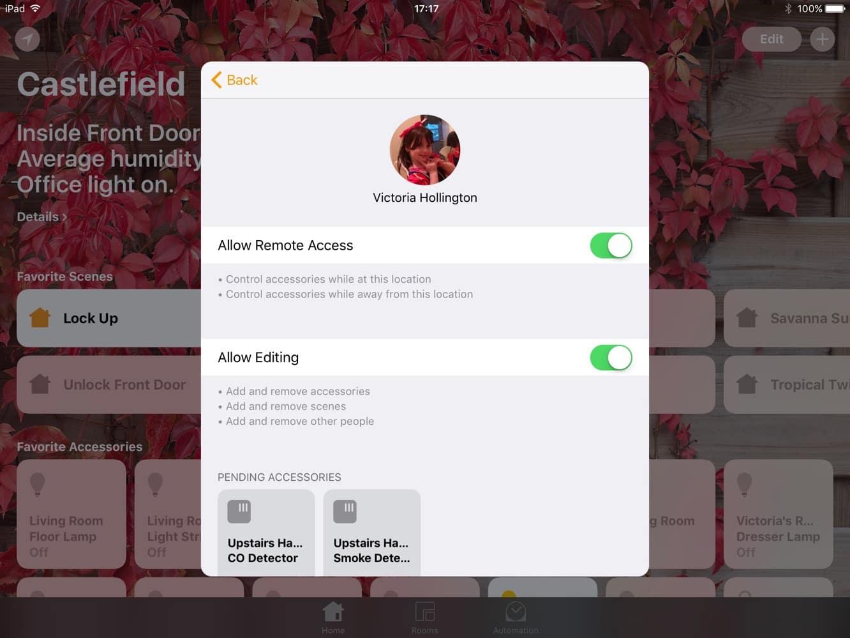 Sharing HomeKit Access