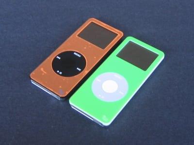 Orange on Black and Green on White
