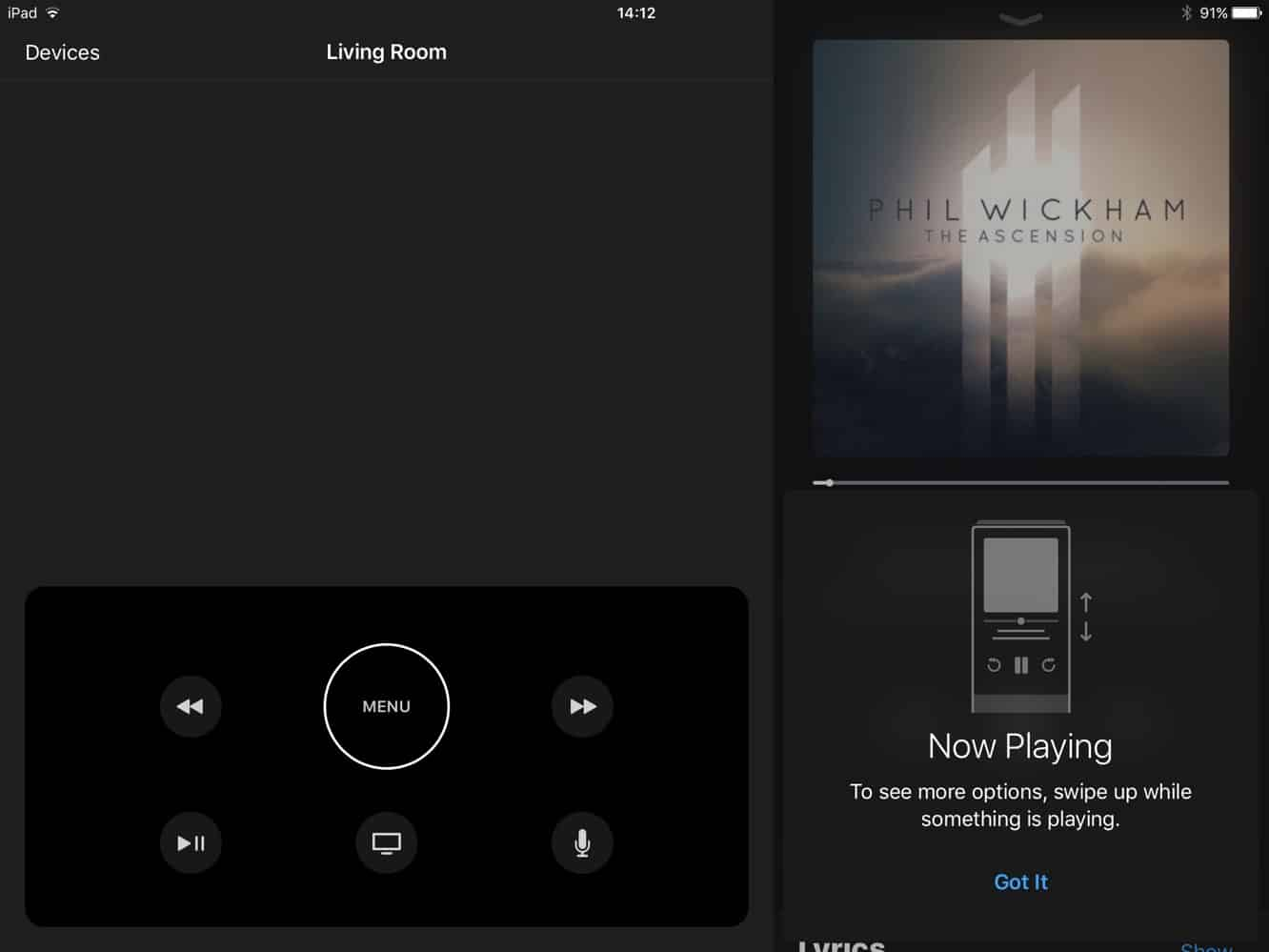 Apple releases tvOS 10.2 and Apple TV Remote for iPad