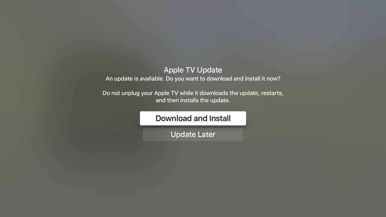 Apple releases tvOS 9.0.1, first software update for new Apple TV