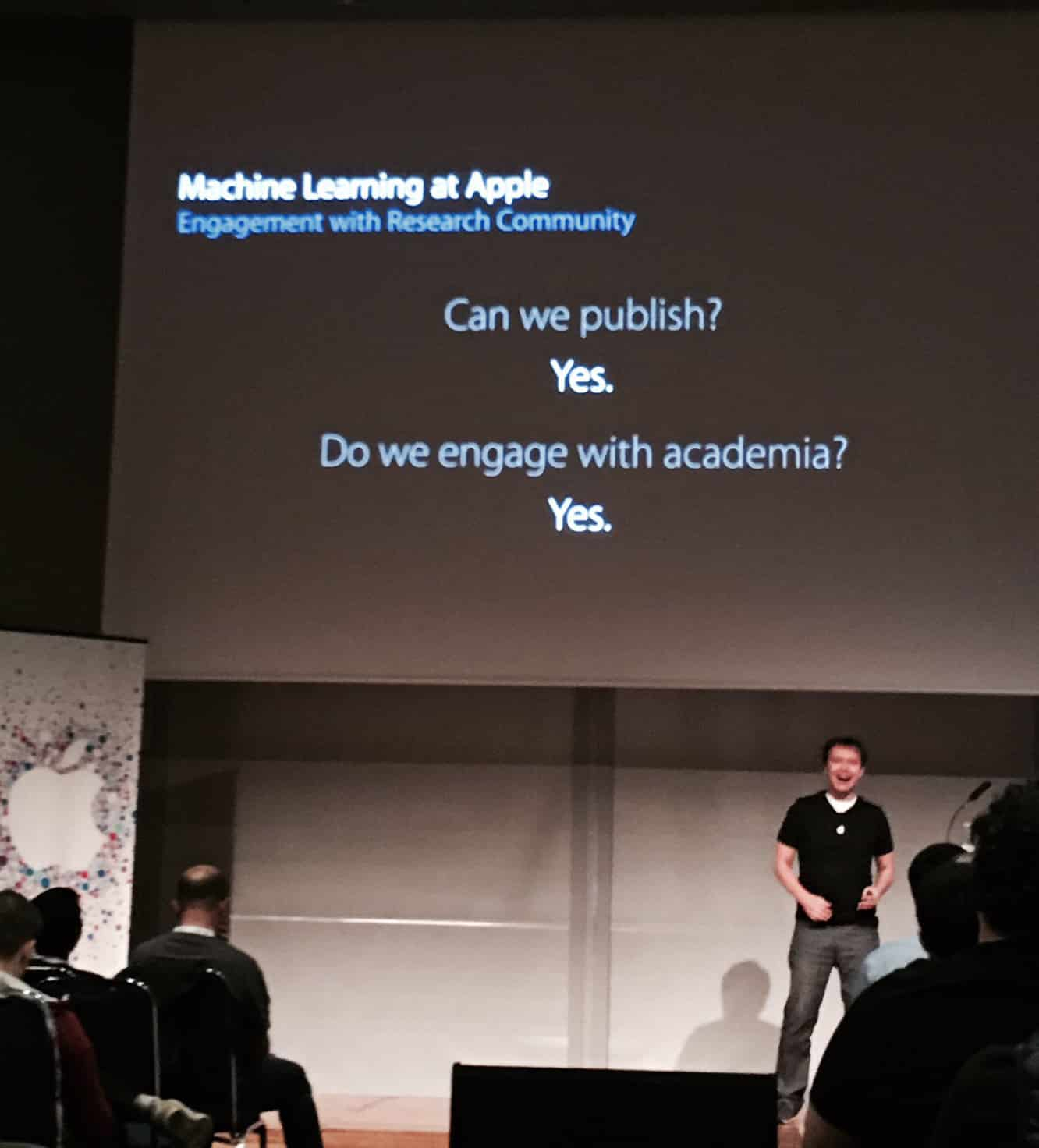 Apple to start publishing its AI research