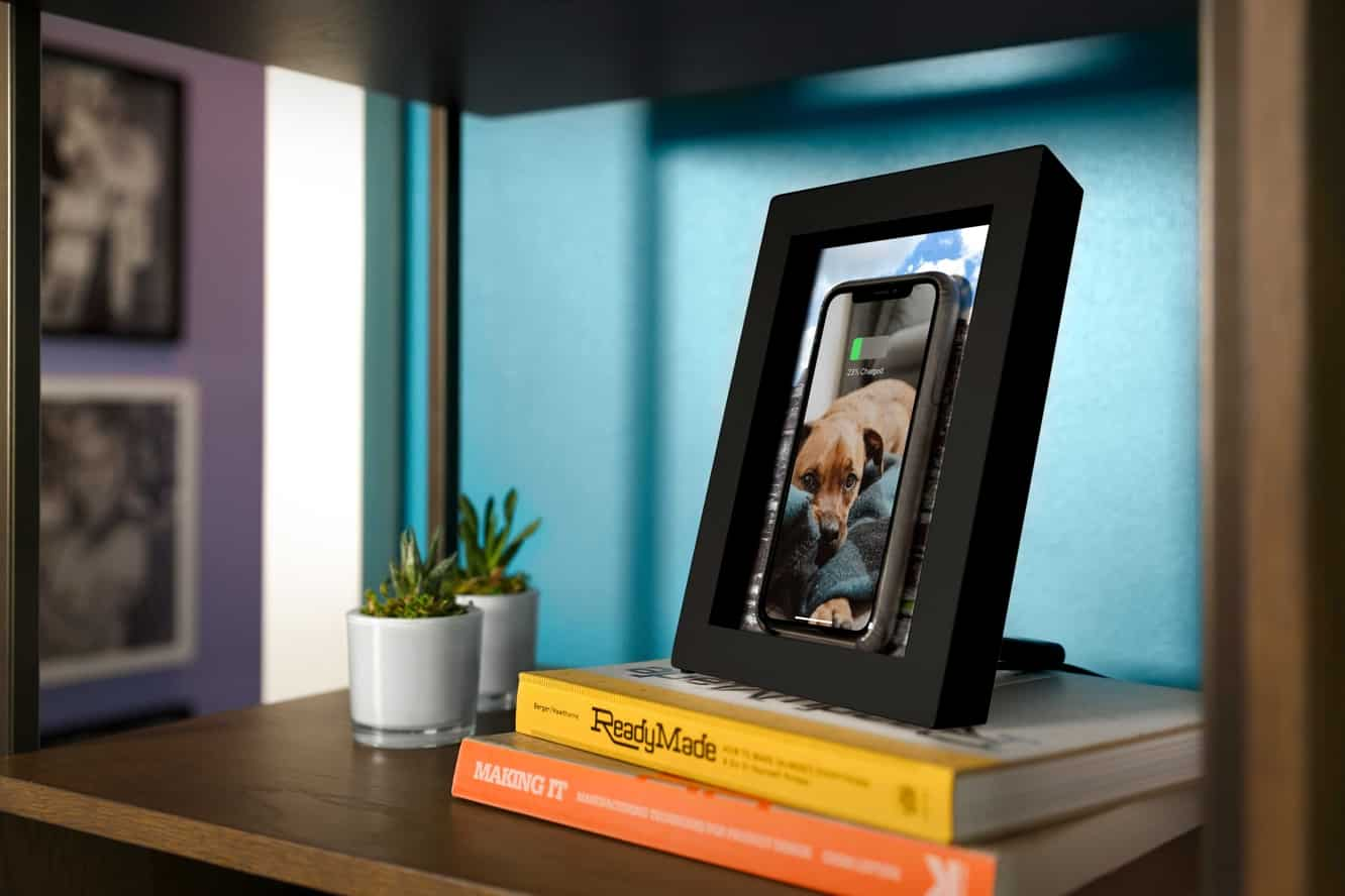 Twelve South's PowerPic hides a wireless charger in a picture frame