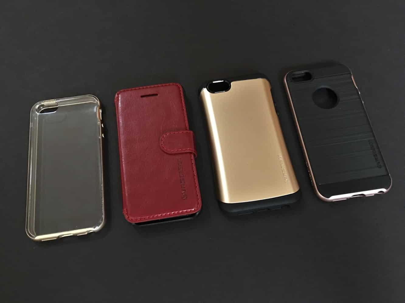 Review: VRS Design Crystal Bumper, High Pro Shield, Layered Dandy + Thor for iPhone SE