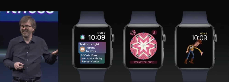 Apple shows off watchOS 4