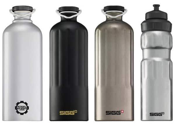 Sigg Metal Water Bottles
