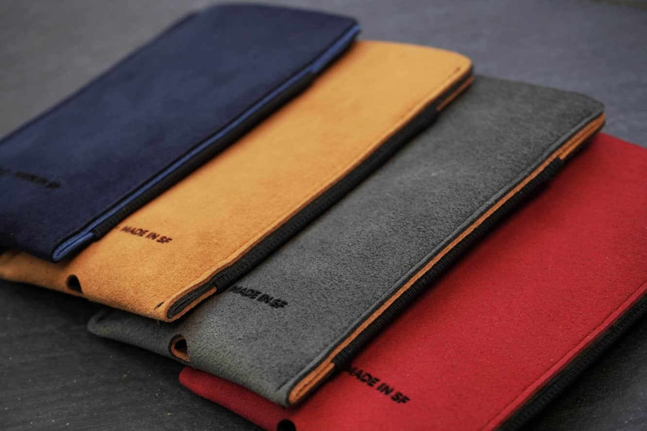 WaterField announces Fused Suede Case for iPhone XS, XS Max, XR
