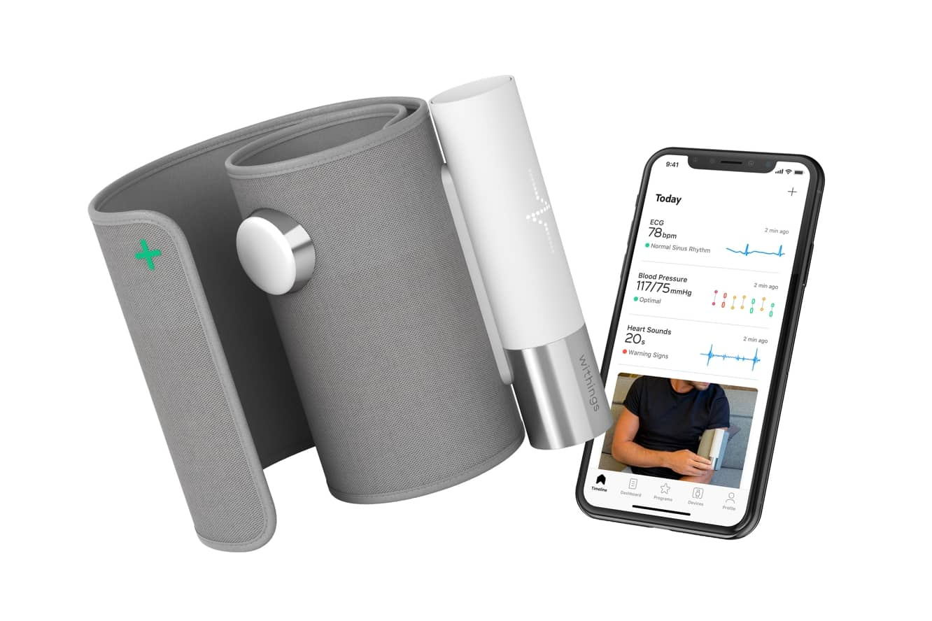 Withings unveils BPM Core Blood Pressure, ECG, and Digital Stethoscope Monitor