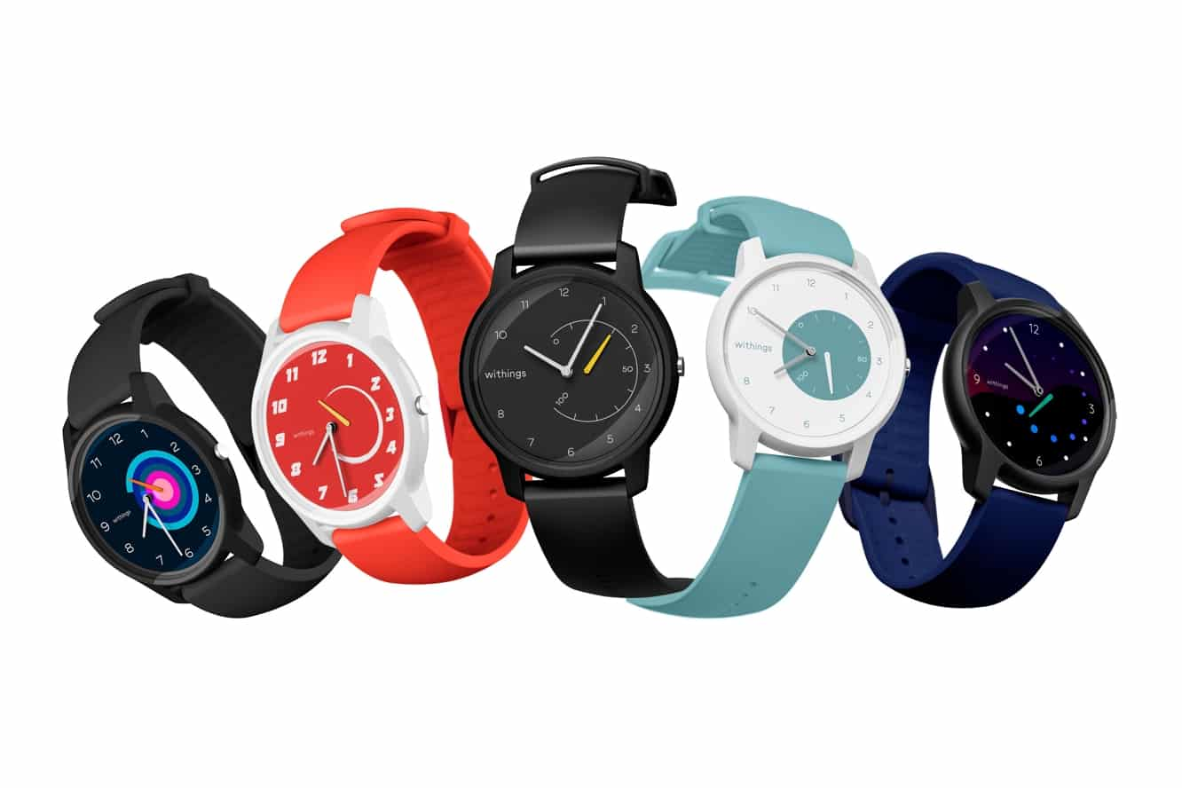 Withings announces Move and Move ECG fitness and health tracking devices