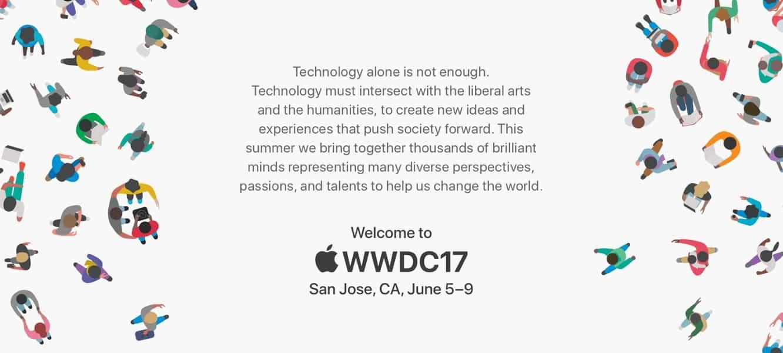 Apple announces WWDC 2017